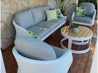 Grace 4pc Outdoor Lounge Setting