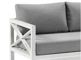 Hampton 4pc  Aluminium  Outdoor Lounge Setting
