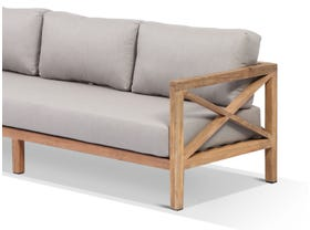 Hampton Outdoor 3 Seater Lounge