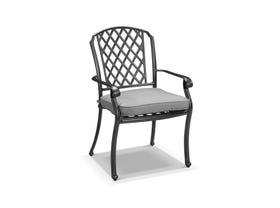Pizzaro Cast Aluminium Chair