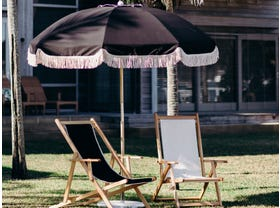 Jardin Umbrella 2.1m Black