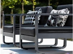 Reno 4pc Outdoor Aluminium  Lounge Setting