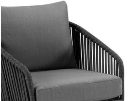 Java 3pc Outdoor Rope Lounge Setting