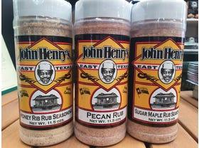 John Henry's 3pk Rub Package