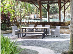 Laguna 240 Table with Chisholm  Chairs -8 Seater Outdoor Dining Setting