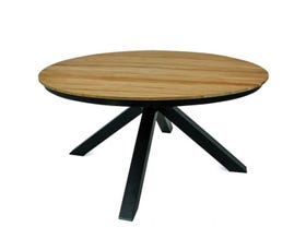 Lancaster 150cm Round Teak Table- NSW ONLY