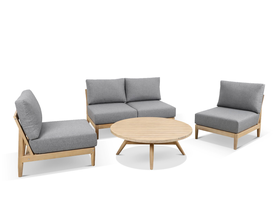 Liberty 4pc Outdoor Lounge Setting