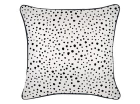 Lunar with Black Piping Outdoor Cushion -60 x 60cm
