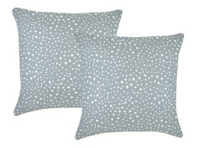 Lunar Smoke 60cm Outdoor Cushions 2 Pack