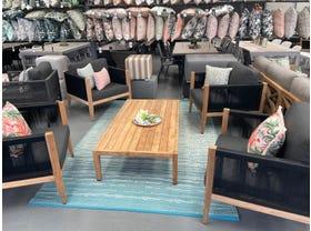 FLOOR MODEL- Oslo 5pc Outdoor Lounge Setting