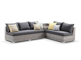 Maldives 3pc Outdoor Modular Lounge Setting - VIC ONLY