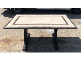 FLOOR MODEL- Milano 165 Stone Table