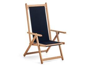 Monte Deck Chair -Black