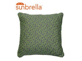 Outdoor Sunbrella Coral Cushion - 50 X 50 -NSW ONLY