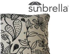 Outdoor Sunbrella  Waikki Cushion -50x50
