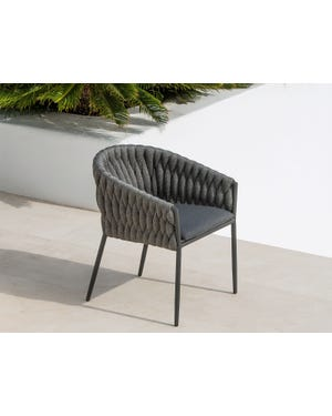 Palm Outdoor Rope Dining Chair