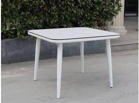 Leros Outdoor Ceramic Table -100 x 100cm