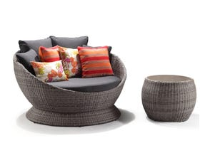Bahama 2pc wicker Daybed