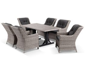Luna 165 with Summerset Dining Chairs