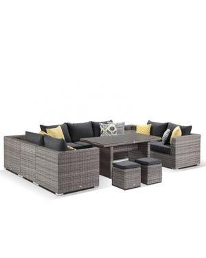 Maldives 12pc outdoor modular lounge setting