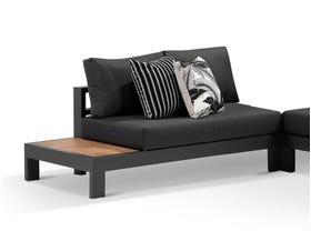 Aspen Teak Platform RH 2 Seater Sofa