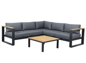 Lodge 5 Seater Outdoor Modular Lounge Setting