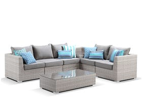 Maldives  7pc Outdoor Modular Lounge Setting