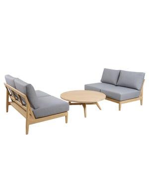 Liberty 3pc Outdoor Lounge Setting