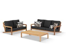 Venlo 3pc Teak Outdoor Lounge Setting