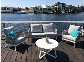 Serang 4pc Outdoor Rope Lounge Setting