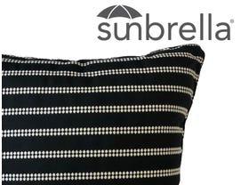 Outdoor Sunbrella Barbados Cushion -50x50