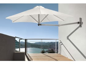 Paraflex Wall Mounted Umbrella Instant shade