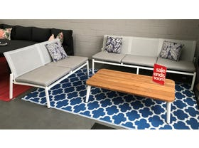 FLOOR MODEL- Pacific Armless 3pc Outdoor Lounge Setting
