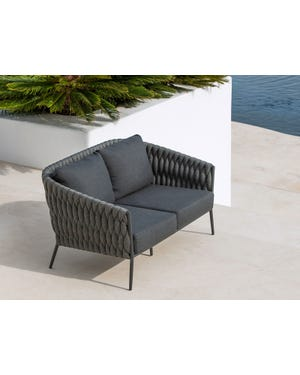 Palm Outdoor 2.5 Seater Lounge