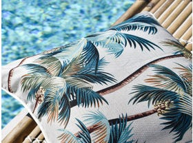 Palm Trees Natural Outdoor Cushion -60 x 60cm