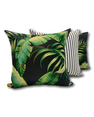 Palmiers in Elegance Outdoor Cushion 3 Pack