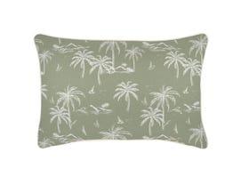 Postcards Sage Outdoor Cushion -35 x 50cm