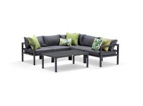 Provence 6pc outdoor modular lounge setting