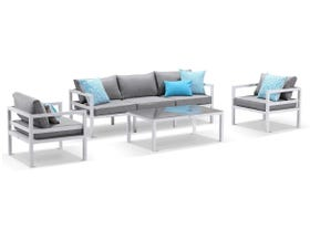 Provence 5 Seater Outdoor Sofa Setting