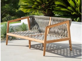 Ritz Outdoor 2 Seater Lounge