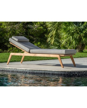 Ritz Outdoor Sunlounger