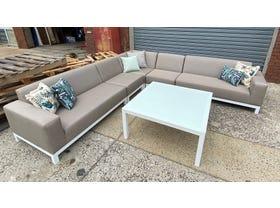 FLOOR MODEL- Rivera 6pc Outdoor Lounge Setting