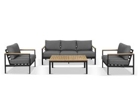 Roxby 4pc  Outdoor Lounge Setting