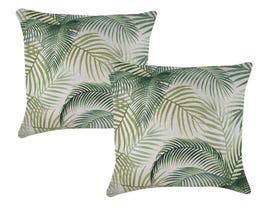 Seminyak Green  60cm Outdoor Cushions 2 Pack