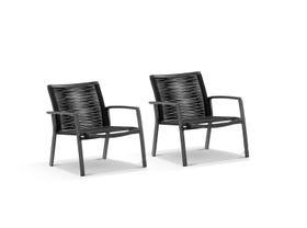 Sevilla Rope Arm Chair 2pc Balcony Set
