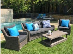 FLOOR MODEL -Somerset 4pc  Outdoor  Lounge setting