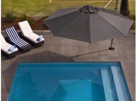 Aurora 3.5m Octagonal Umbrella -Smoked Tweed
