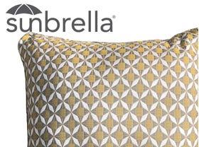 Outdoor Sunbrella Mosaic Cushion - 50 x 50