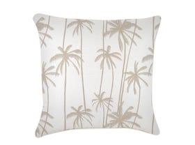 Tall Palms Beige Outdoor Cushion -60 x 60cm
