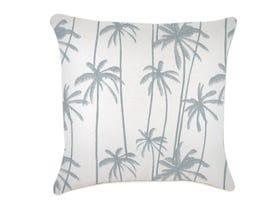 Tall Palms Smoke Outdoor Cushion -60 x 60cm